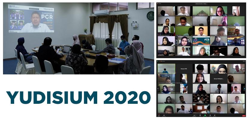 Gambar 391 Mahasiswa PCR Ikuti Sidang Yudisium 2020