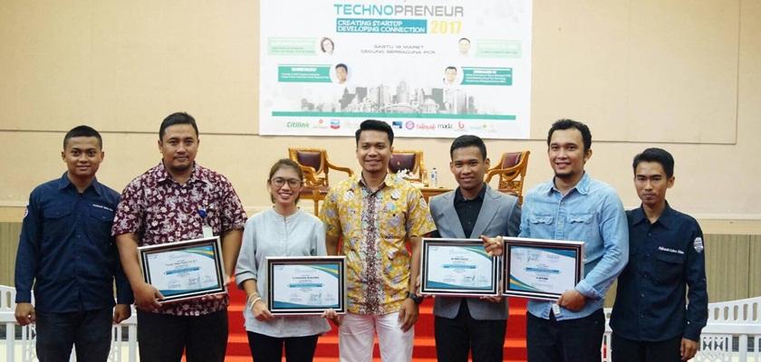 Gambar BEM PCR Ajak Masyarakat Sukses Bisnis Berbasis Teknologi Dalam Seminar Technopreneur
