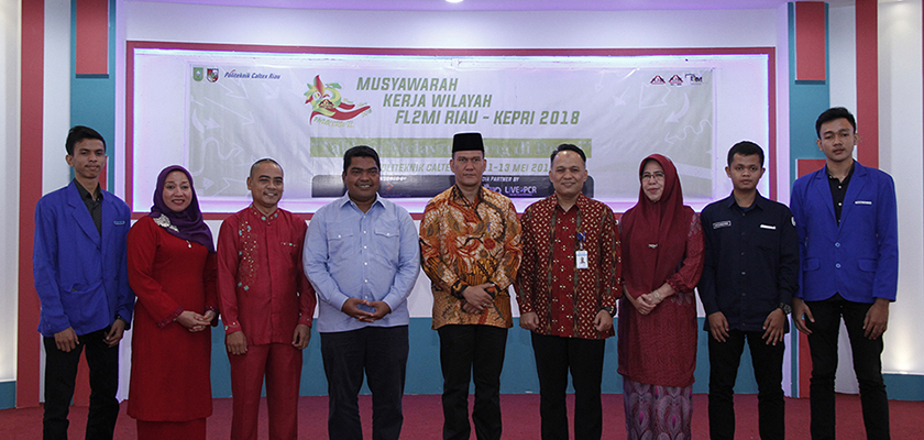 Gambar BLM PCR Tuan Rumah Mukerwil FL2MI Riau – Kepri 2018