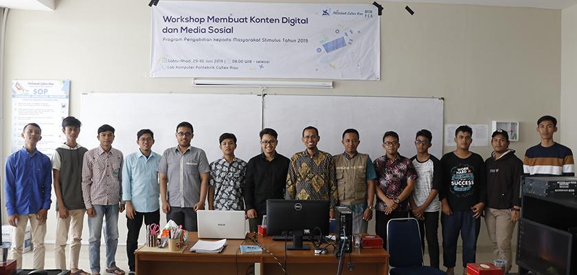 Gambar Digitalisasi informasi, PCR Gelar Workshop Konten Digital dan Media Sosial kepada Remaja Masjid di Lingkungan PCR