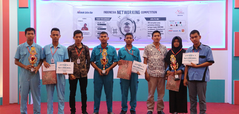 Gambar Indonesia Networking Competition Sukses Digelar