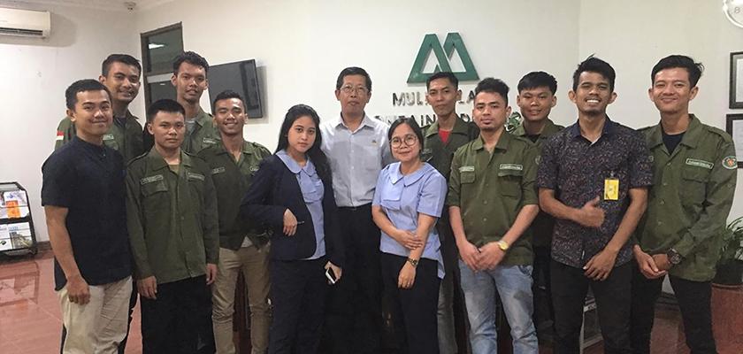Gambar Keren! 9 Mahasiswa Teknik Mekatronika Jalani Medical Check Up dan Visit Plan di PT Mulia Indrustindo, Tbk