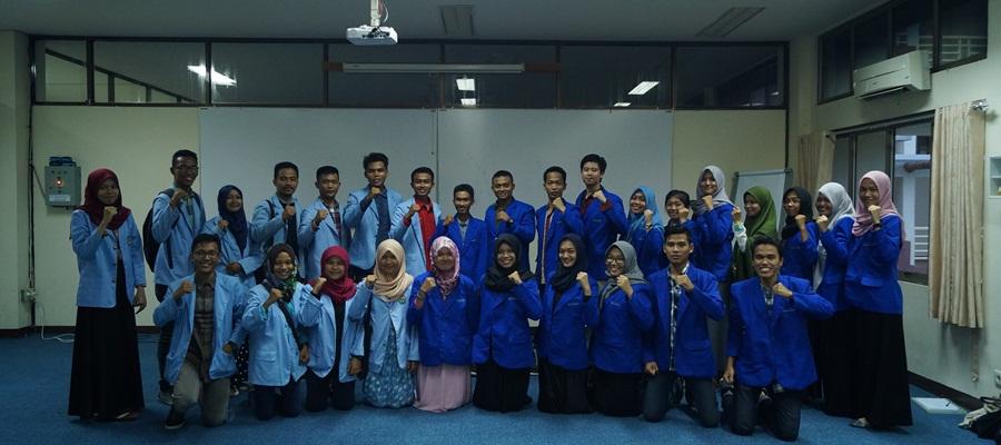 Gambar Kunjungan Kerja BEM Universitas Riau kepada BEM Politeknik Caltex Riau