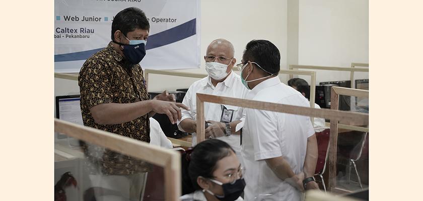 Gambar LLDIKTI Wilayah X Pantau Pelaksanaan Seleksi Mandiri Bersama Kerja Sama PNP di Politeknik Caltex Riau