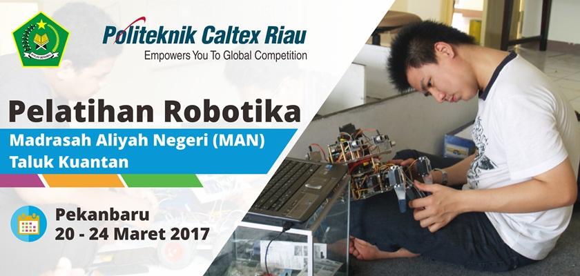Gambar MAN Taluk Kuantan Ikuti Pelatihan Robotika di PCR