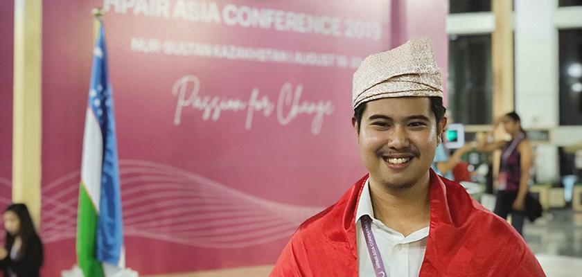 Gambar Mahasiswa PCR Jadi Delegasi Indonesia pada Harvard Asia Conference di Kazakhstan
