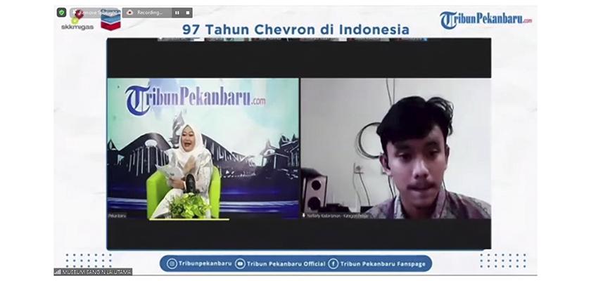 Gambar Mahasiswa PCR Raih Juara 1 Lomba Foto 97 Tahun Chevron di Indonesia