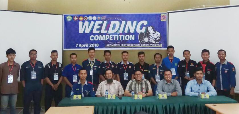 Gambar Mahasiswa PCR Raih Juara 3 Welding Competition