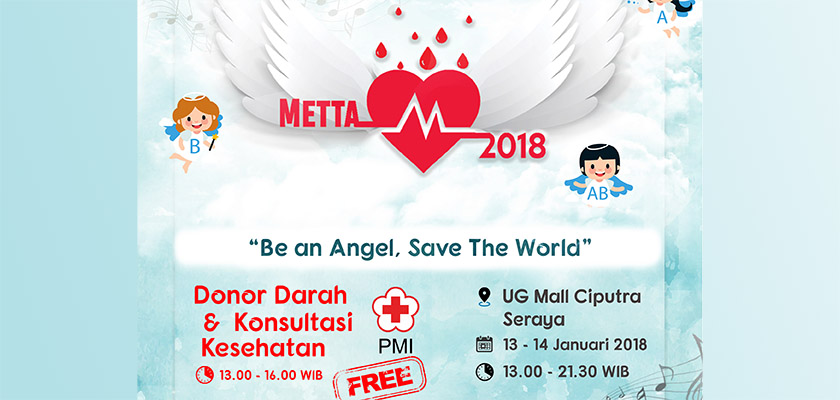 Gambar Metta 2018 : Be An Angel, Save The World