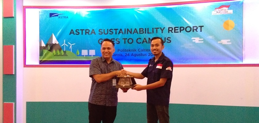 Gambar PCR Bekerjasama dengan Astra Internasional Adakan Kuliah Umum Astra Sustainability Report