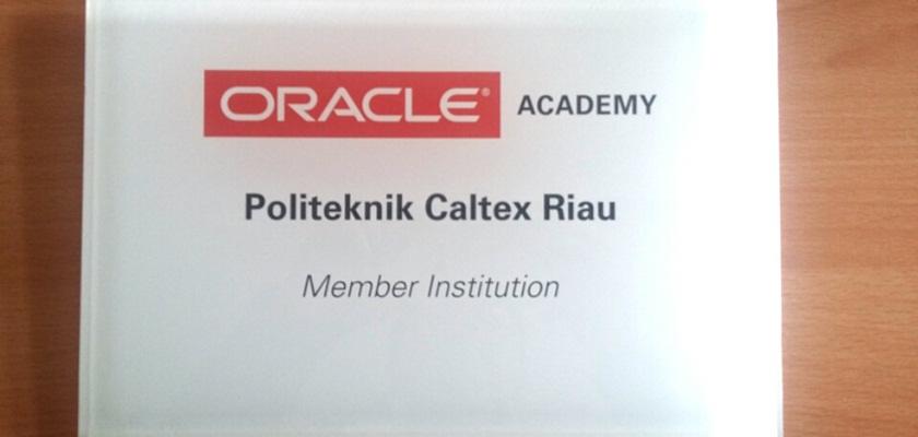 Gambar PCR Resmi Menjadi Member Institution dari Oracle Academy