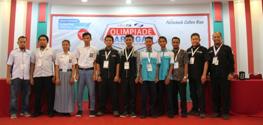 Gambar PCR Sambut 36 Sekolah Peserta Olimpiade Nasional Jaringan Mikrotik 2017