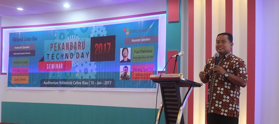 Gambar Politeknik Caltex Riau Gelar Pekanbaru Techno Day 2017