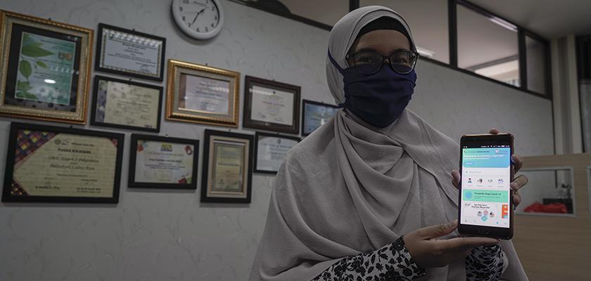 Gambar Politeknik Caltex Riau Kembangkan Aplikasi Lacak Covid-19 untuk Pemko Pekanbaru (CikPuan)