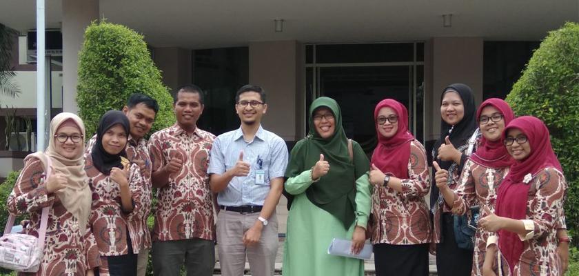 Gambar STIKES dan AKBID Alifah Padang Lakukan Studi Banding SPMI ke PCR
