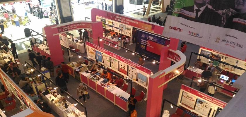 Gambar SiPePLi Wakili PCR Dalam Kegiatan Pameran Inovasi Berbasis Teknologi: Inovator Inovasi Indonesia Expo (I3E) 2018 di Yogyakarta