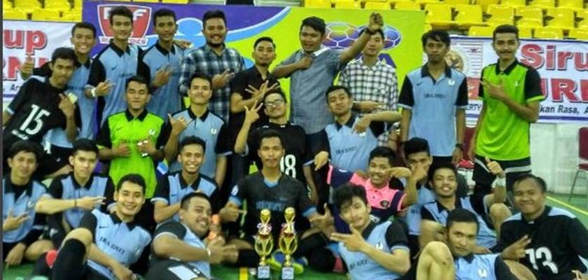 Gambar Tim Futsal PCR Merajai CAP Series Riau