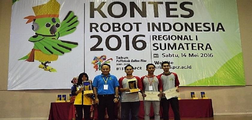 Gambar Tim Robot PCR Melaju ke Tingkat Nasional 2016