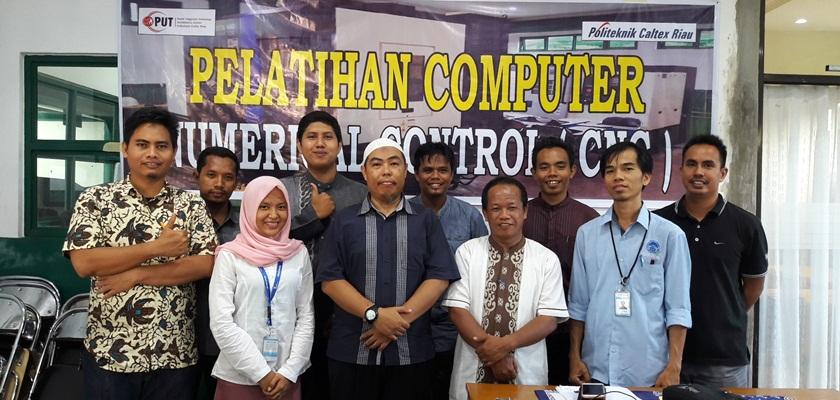 Gambar Tingkatkan Kompetensi Laboran dan Guru SMK, PUT PCR adakan Training Operator dan Programming CNC