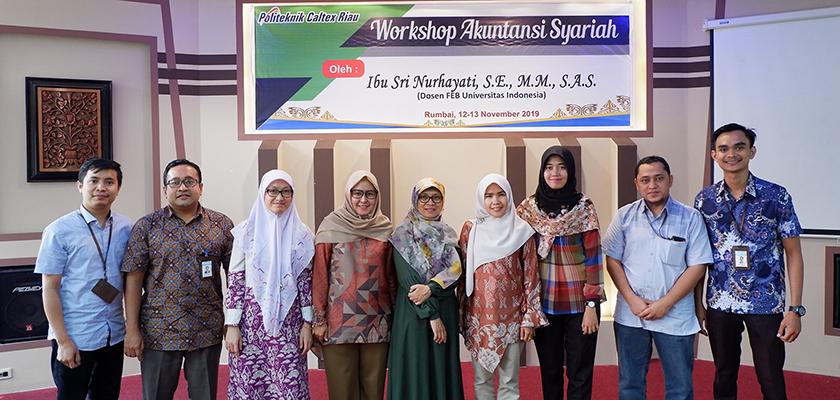 Gambar Tingkatkan Pengetahuan Akuntansi Syariah, Prodi Akuntasi PCR Gelar Workshop Akuntasi Syariah