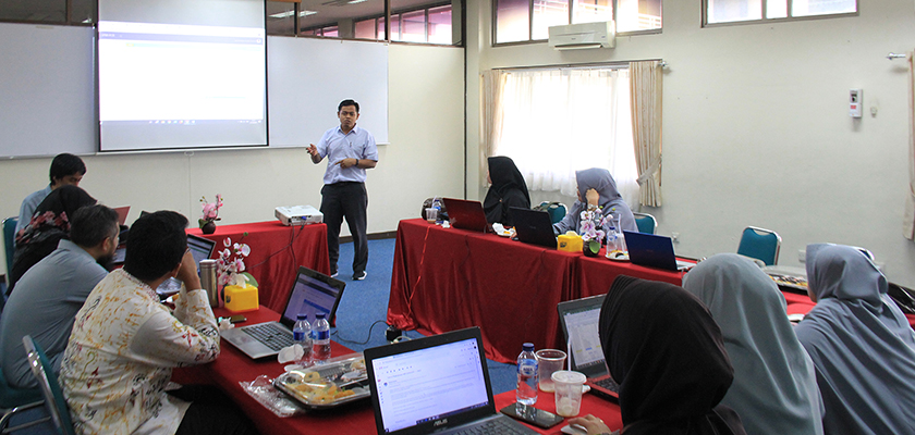 Gambar Wow Keren, Bagian Penjeminan Mutu PCR Terapkan Audit Mutu Internal Tahun Akademik 2018/2019 berbasis eSPMI