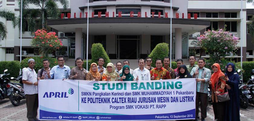 Gambar Wujudkan Program SMK Vokasi, PT. RAPP Pilih PCR Untuk Studi Banding