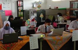 49 Siswa Rohil Ikuti Ujian Seleksi Beasiswa Kerja Sama Pemkab Rohil dan Politeknik Caltex Riau