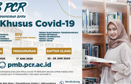 Cegah Penyebaran Covid-19, PCR Buka Jalur Khusus Penerimaan Mahasiswa Baru