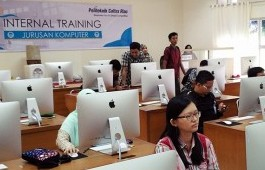 Jurusan Komputer Adakan Internal Training iMac dan MacOS Essentials