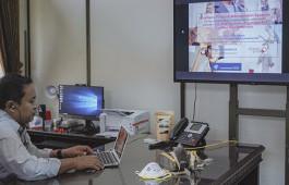 Kabut Asap Semakin Tebal, PCR Terapkan Perkuliahan dengan E-Learning
