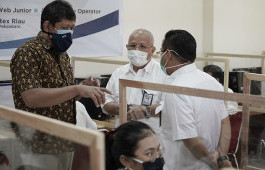 LLDIKTI Wilayah X Pantau Pelaksanaan Seleksi Mandiri Bersama Kerja Sama PNP di Politeknik Caltex Riau