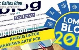 Lomba Blog PCR 2018