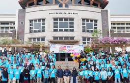 Manfaatkan Libur Kuliah, 252 Mahasiswa Ikuti Program PCR Goes to School