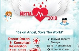 Metta 2018 : Be An Angel, Save The World
