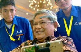 Mindy Wheelchair Karya Mahasiswa PCR Pukau Pengunjung IPA Convex 2019 di Jakarta