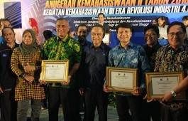 PCR Raih Terbaik 1 Anugerah Kemahasiswaan II 2018 Kemenristekdikti