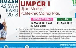 INFORMASI PELAKSANAAN UMPCR I 2018