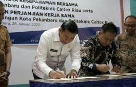 Pemerintah Kota Pekanbaru Sepakat Jalin Kerja Sama dengan Politeknik Caltex Riau