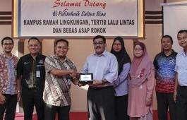 Politeknik Shah Alam Malaysia Kunjungi PCR