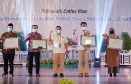 SKK Migas – PT.CPI Berikan Penghargaan kepada PCR