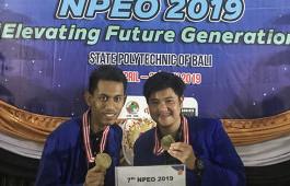 Tim Debat Bahasa Inggris PCR Meraih 3rd Runner Up pada NPEO 2019.