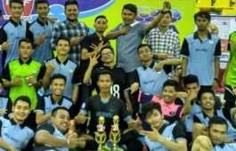 Tim Futsal PCR Merajai CAP Series Riau
