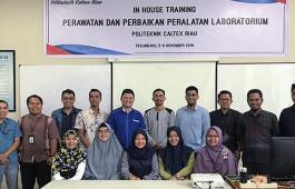 Tingkatkan SDM dan Pengetahuan Asisten Instruktur Laboratorium, Jurusan Teknologi Industri Adakan Pelatihan Perawatan dan Perbaikan Peralatan Laboratorium