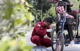 Tricycle Bike, Sepeda Listrik Untuk Penyandang Disabilitas Karya Mahasiswa PCR