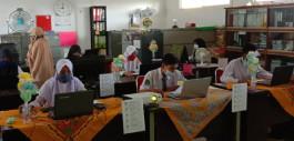 Gambar 49 Siswa Rohil Ikuti Ujian Seleksi Beasiswa Kerja Sama Pemkab Rohil dan Politeknik Caltex Riau