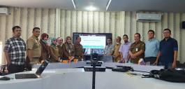 Gambar Bekerja Sama dengan Pemerintah Kota Pekanbaru, PCR Kembangkan Sistem Informasi Pemantauan Sebaran Covid-19