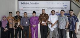 Gambar Diskusi Program Kerja, Badan Riau Creative Network Gandeng Politeknik Caltex Riau