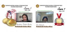 Gambar Dua Mahasiswa PCR Raih Juara 1 Pada Olimpiade Akuntansi Nasional III Perguruan Tinggi di Politeknik Negeri Padang