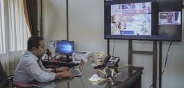 Gambar Kabut Asap Semakin Tebal, PCR Terapkan Perkuliahan dengan E-Learning