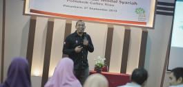 Gambar Kenalkan Pasar Modal Syariah, PCR Hadirkan BEI Perwakilan Daerah Riau dan MNC Sekuritas